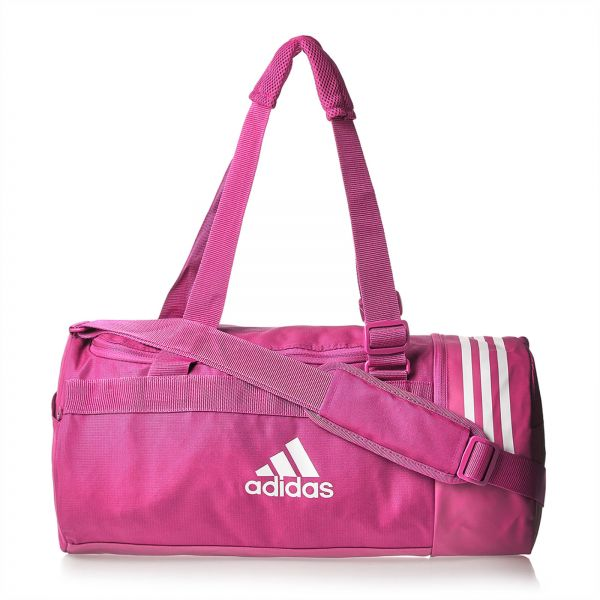 16766b42290 adidas CVRT 3S Duf S Unisex Outdoor Duffle Bag - Shock Pink. by adidas, Duffle  Bags - Be the first to rate this product. 43 % off