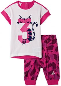 brand new 114a2 f604d adidas Two Pieces Wear For Girls