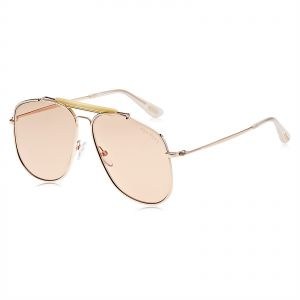 23fc5a4ec804 Tom Ford Aviator Sunglasses for Men - Gold Lens