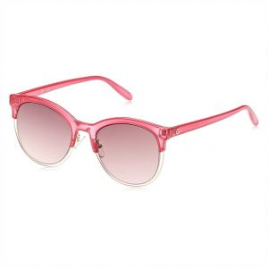 d0435ea8cf6 G by Guess Clubmaster Sunglasses for Women - Pink lens
