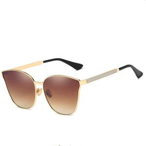 2c14447f7bc Men and women metal frame sunglasses outdoor UV protection driving  high-definition sunglasses