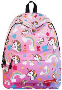 Unicorn Backpack, Children Rainbow Printed Shoulder Bag Schoolbag Bookbag,  Large Capacity Cute Lightweight Laptop Storage Bag for Girls Teen Student  Travel ... 625a9a054a