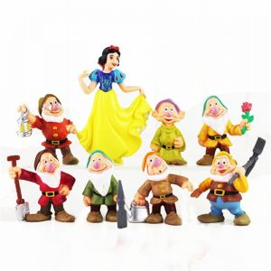 Toys & Hobbies 8pcs/lot White And The Seven Dwarfs Action Figures Toys Cake Oraments Kids Gift Toys Free Shipping