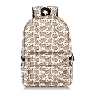 58803cc7f053 fat Kitty casual backpack Shoulder bag full print large capacity schoolbag
