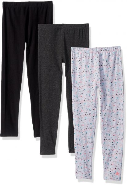 fae50e87652a9 Limited Too Little Girls' 3 Pack Fleece Legging (More Styles Available),  Multi Print, 4 | Souq - UAE