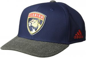 4f6277114f122 adidas NHL Florida Panthers Structured Adjustable Hat