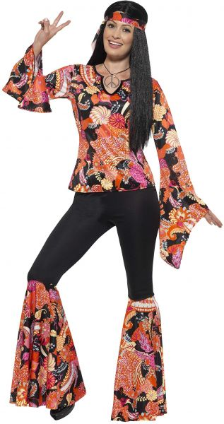 feafbeab3c0d Smiffys Women s 1960 s Willow The Hippie Costume