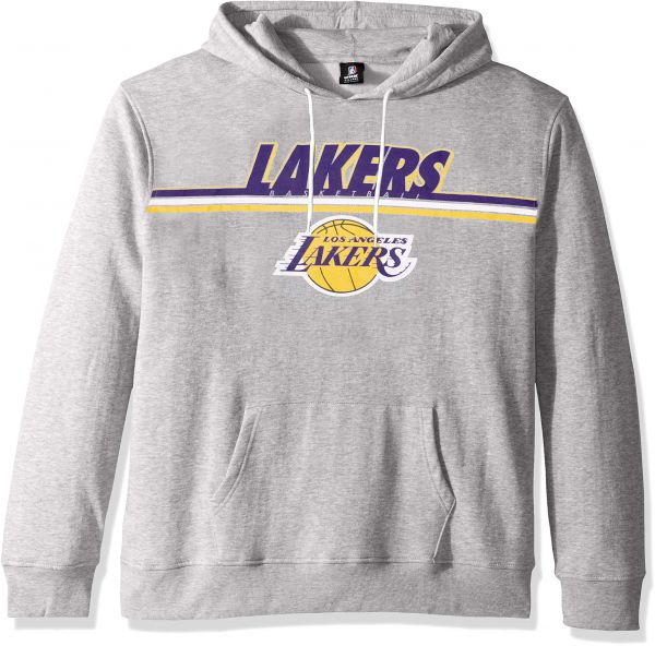 c09a2e19f3f9 UNK NBA NBA Men s Los Angeles Lakers Fleece Hoodie Pullover Sweatshirt Out  of Bounds