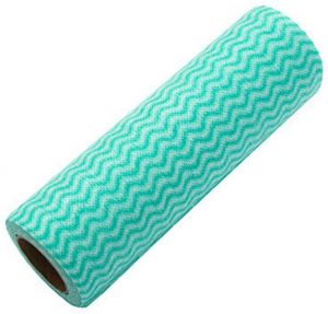 50pcs Roll Reusable Cleaning Wipe