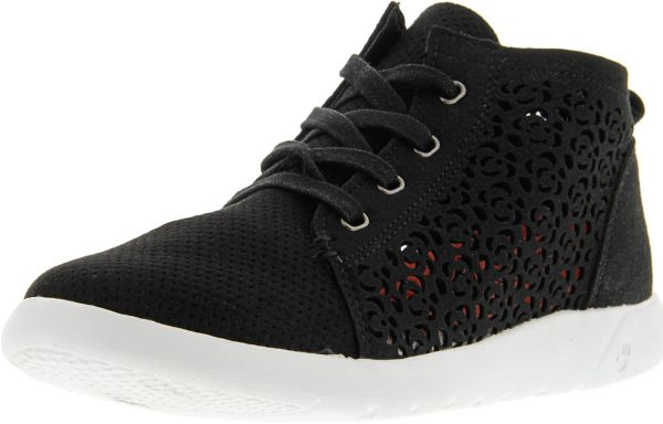 de1ed558b23 Bearpaw Women s Savannah Black Ii Ankle-High Suede Fashion Sneaker - 8.5M