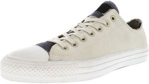 Converse Chuck Taylor All Star Pro Blanket Stripe Ox Buff   Casino White  Ankle-High Leather Fashion Sneaker - 10M 8M 2a753d477