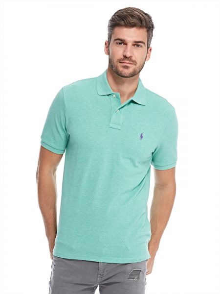 92748f5e2 ... Classic Fit Polo T-Shirt for Men - Green. by Polo Ralph Lauren , Tops  -. 28 % off