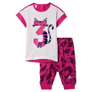 6a40183f43d Adidas Summer Set Girls for Boys - White Real Magenta F18 Collegiate Royal