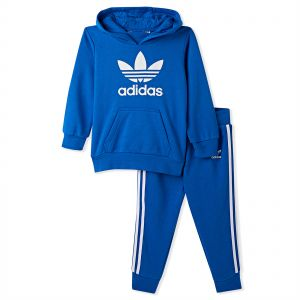 7f80dfd09aa Adidas Trefoil Hoodie for Boys - Light Pink White