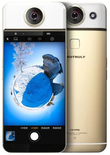 smart phone with 360 degree camera from Protruly D7 of Android system