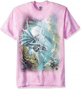best value a7abc 66f03 The Mountain Sea Dragon Adult T-Shirt, Pink, XL