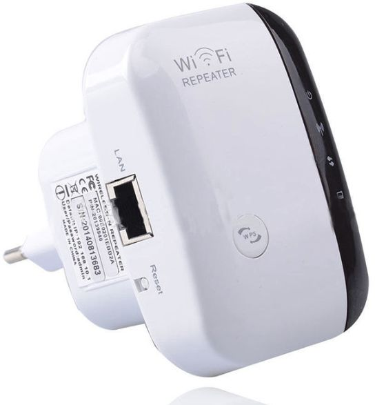 Portable WiFi Repeater Wireless Router with Wall in Socket Support One Key  Encryption 300Mbps 2 4GHz