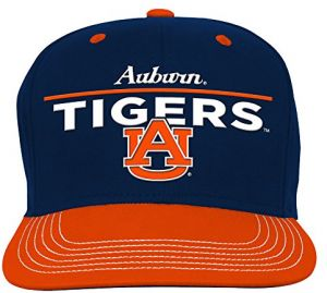 3e88a0473f8ea NCAA Auburn Tigers Youth Boys Retro Bar Script Flatbrim Snapback Hat