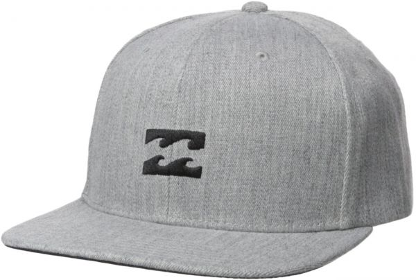 22931390c1c Billabong Men s All Day Heather Snapback Hat