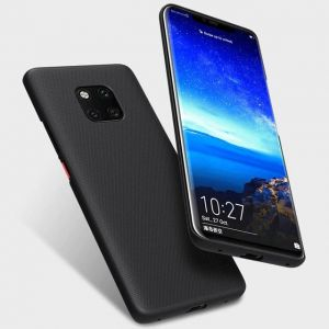 Huawei Mate 20 Pro Nillkin Super Frosted Shield Hard Case Anti-Fingersprint , With Phone Kickstand Protective Case For Mate 20 Pro Cover Black