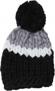 7e114e79701 Tickled Pink Accessories Women s Warm Chunky Thick Cable Knit Pom Beanie Hat