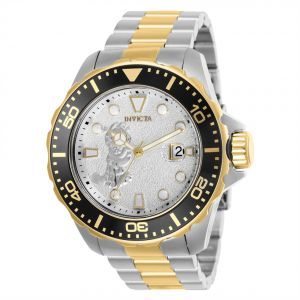 bceaf1b074f Invicta Men s Silver Dial Stainless Steel Band Watch - IN-25138