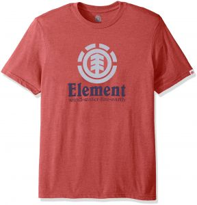 851ce976df9c Element Men s Logo T-Shirt Solid Colors