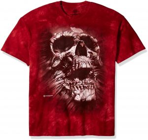 d85be6f7cea8 The Mountain Breakthrough Skull Adult T-Shirt