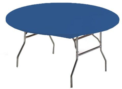 Creative Converting Round Stay Put Plastic Table Cover 60 Inch