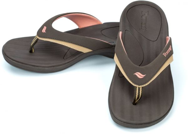 e8a4e7e5a90 Powerstep Women s Fusion Flip-Flop Sandals - Orthotic Sandal with Built-in Arch  Support for Plantar Fasciitis and Flat Feet
