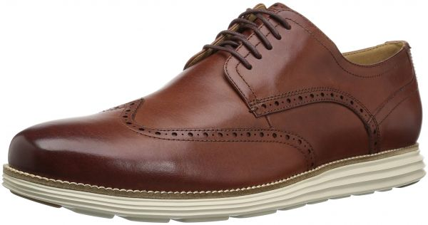 1839cbd8 Cole Haan Men's Original Grand Shortwing Oxford Shoe, Woodbury  Leather/Ivory, 13 W US