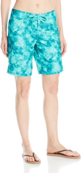 516990bd5a Kanu Surf Women's UPF 50+ Quick Dry Active Prints I Swim Boardshort, Sydney  Green, 6. by Kanu Surf, Swimwear - 530 ratings