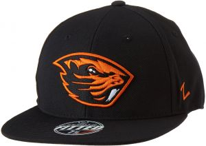 official photos 57095 a1130 Zephyr NCAA Oregon State Beavers Men s M15 Fitted Hat, 7 1 4, Black