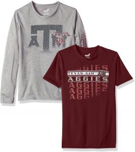 5c0a6d9ce73 Outerstuff NCAA Texas A M Aggies Youth Boys Interface Dri-Tek Combo Pack