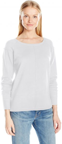 8a5f98979d0 French Connection Women's Babysoft Long Sleeve Soft Solid Pullover ...