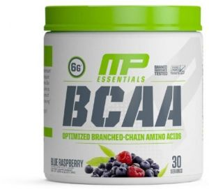 Musclepharm BCAA Powder Blue Raspberry Flavor 30 Servings