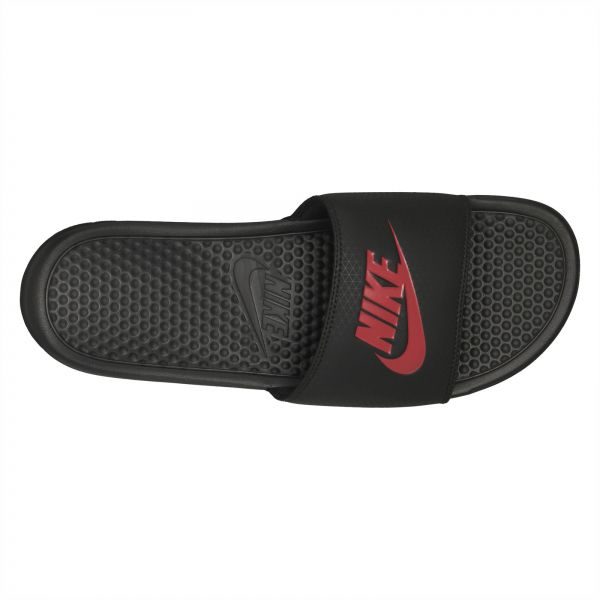 outlet store 6abe4 24d31 Nike Black Slides Slipper For Men
