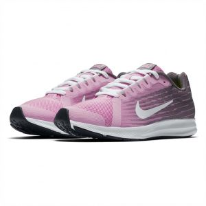sports shoes f20b9 c1480 Nike Downshifter 8 Gs Running Shoes for Kids - Pink Rise White