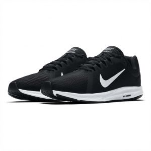 6cd6b5d9af9d Nike Downshifter 8 Running Shoes for Men - Black White