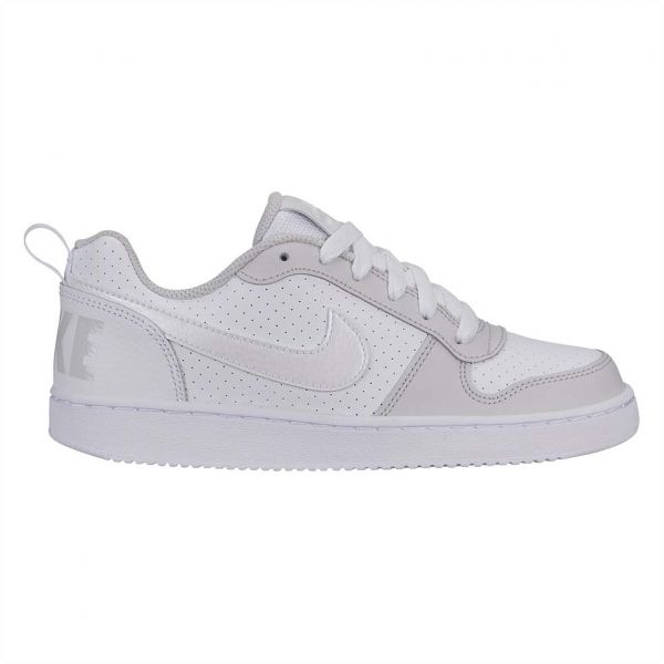 newest 64544 2846c Nike Court Borough Low Gs Basketball Shoes for Kids - White Vast Grey. by  Nike, Athletic Shoes - Be the first to rate this product. 25 % off