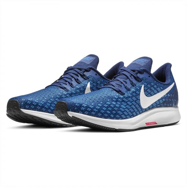 c708b1e1d7eb Nike Air Zoom Pegasus 35 Running Shoes for Men - Indigo Force White ...