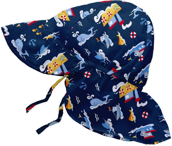 a1c4486f13294 i play. Baby Boys  Flap Sun Protection Hat