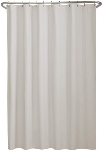 Maytex Microfiber Shower Curtain Liner Bone 70 X 72