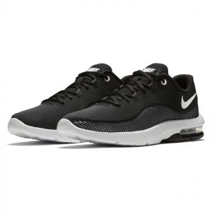 414b49483795 Nike air Max advantage 2 Running Shoes for Men - Black White