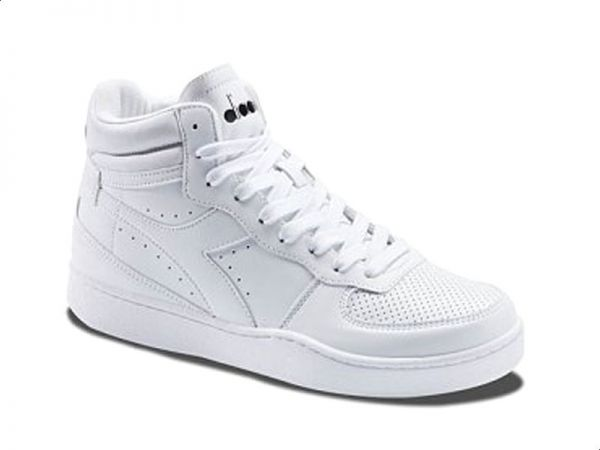 white fitness shoes