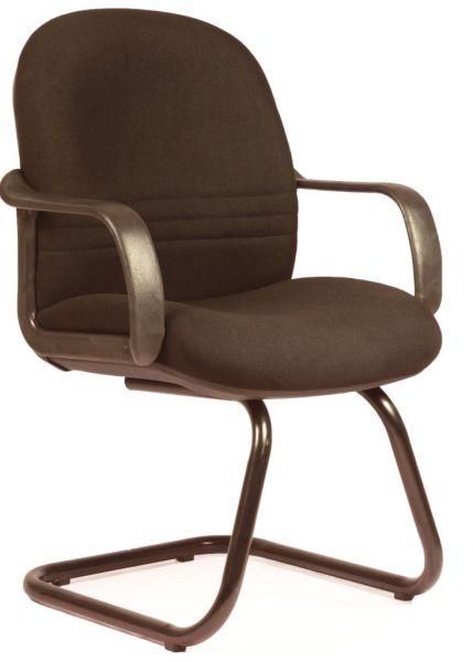 eea71cf29 LOW BACK SIGMA VISITOR OFFICE CHAIR IN BLACK FABRIC FROM LEADERS ...