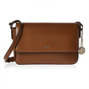 089e4f557c16 DKNY R82E3467 Bryant Flap Over Crossbody Bag for Women - Leather