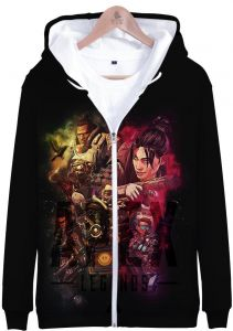 2221313482d Apex Hero Legends adult and Children s Clothing 3D Digital Printed zip up hoodie  sweatshirt for men and women
