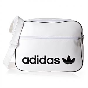 Adidas Vintage Airliner Unisex Crossbody Bag - White 2cd9ea8b5abf5