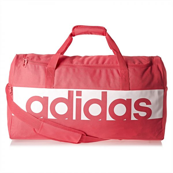 ab3fadd51ba9 Adidas Linear Performance Unisex Duffel Bag - Red